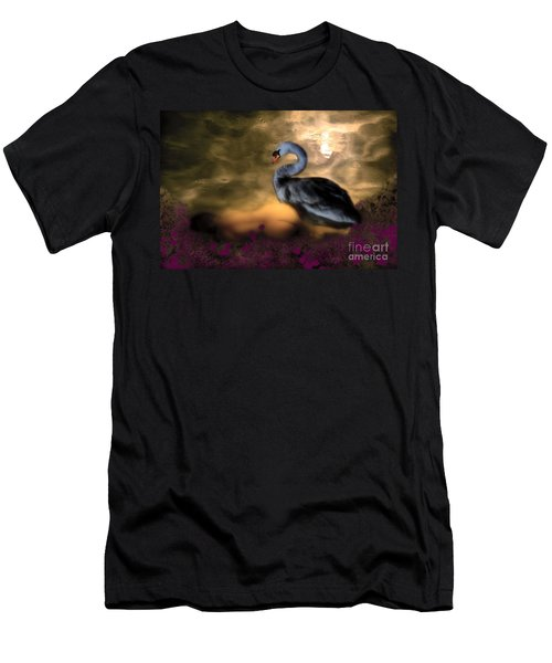 Leda And The Swan Men's T-Shirt (Slim Fit) by Rosa Cobos