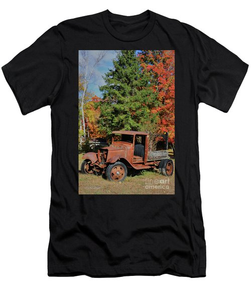 Left Outside Men's T-Shirt (Athletic Fit)