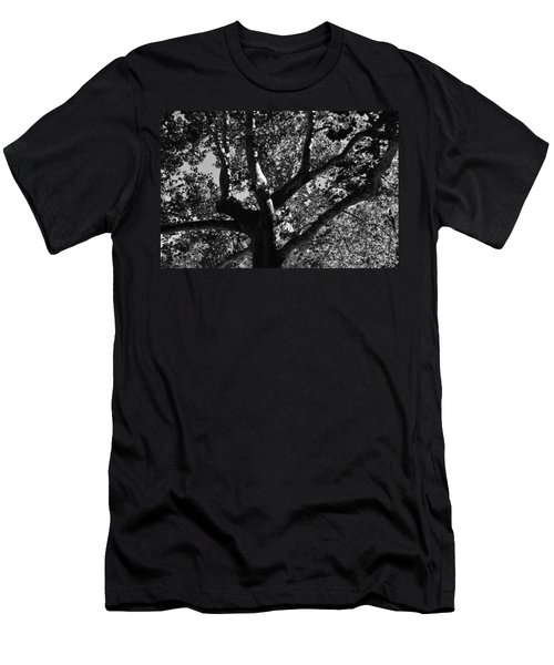 Men's T-Shirt (Slim Fit) featuring the photograph Light And Dark by Brian Hughes