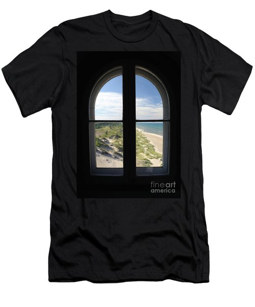 Lighthouse Window Men's T-Shirt (Athletic Fit)