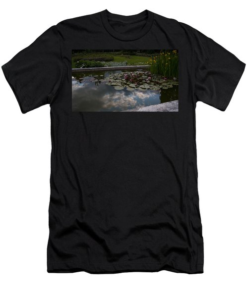 Lillies And Clouds Men's T-Shirt (Athletic Fit)