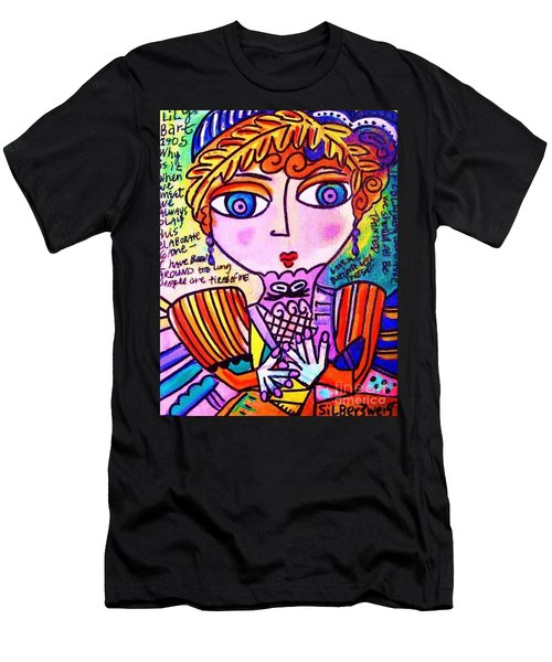 Lily Bart Men's T-Shirt (Slim Fit) by Sandra Silberzweig