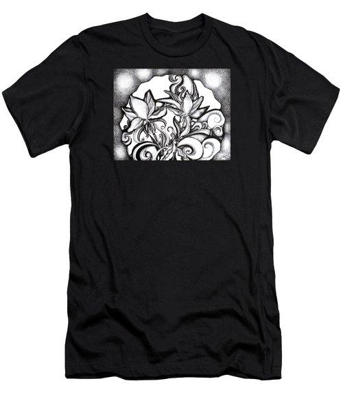 Lily Garden Men's T-Shirt (Athletic Fit)