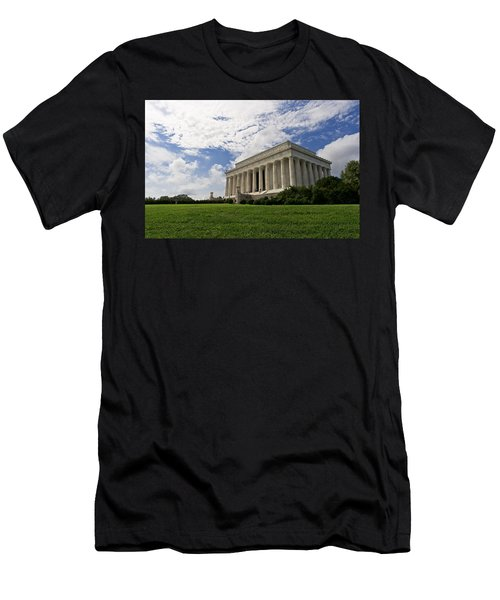 Lincoln Memorial And Sky Men's T-Shirt (Athletic Fit)