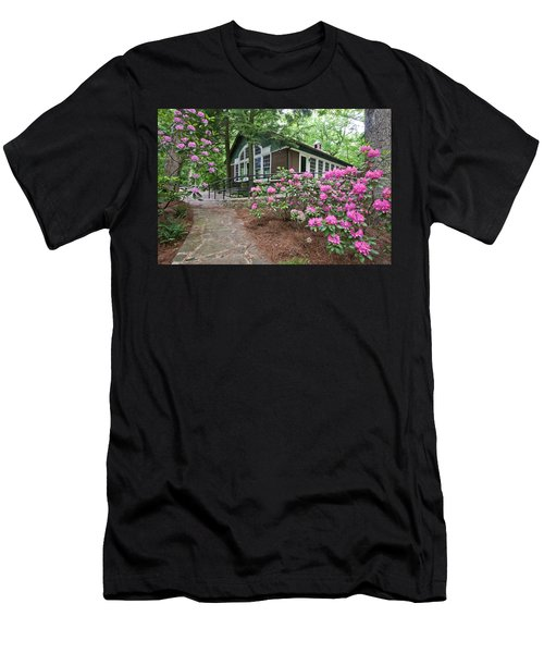 Little Brown Church In Spring Men's T-Shirt (Athletic Fit)