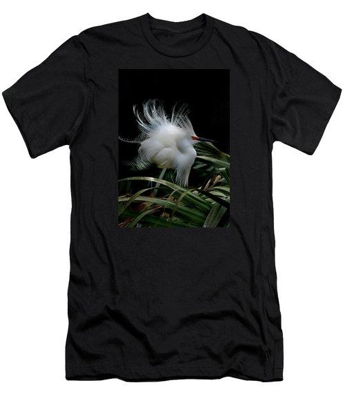 Little Snowy Men's T-Shirt (Athletic Fit)
