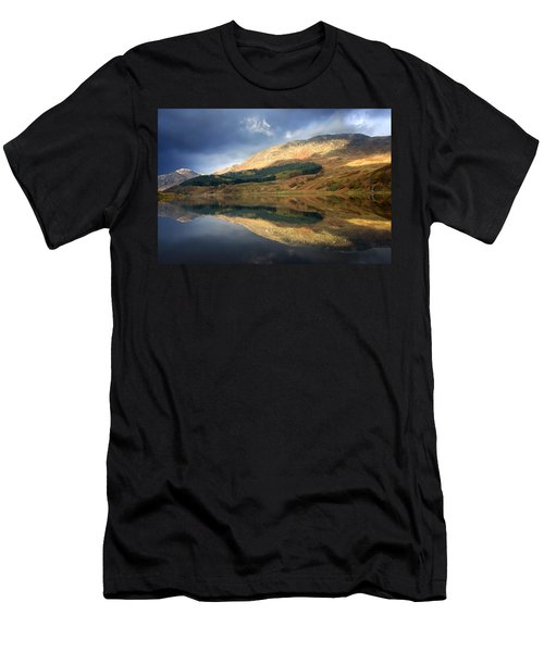Loch Lobhair, Scotland Men's T-Shirt (Athletic Fit)