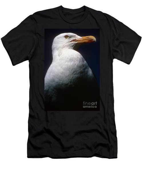 Long Island Seagull Men's T-Shirt (Athletic Fit)