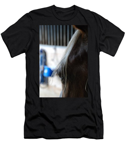 Men's T-Shirt (Slim Fit) featuring the photograph Looking Forward by Jennifer Ancker