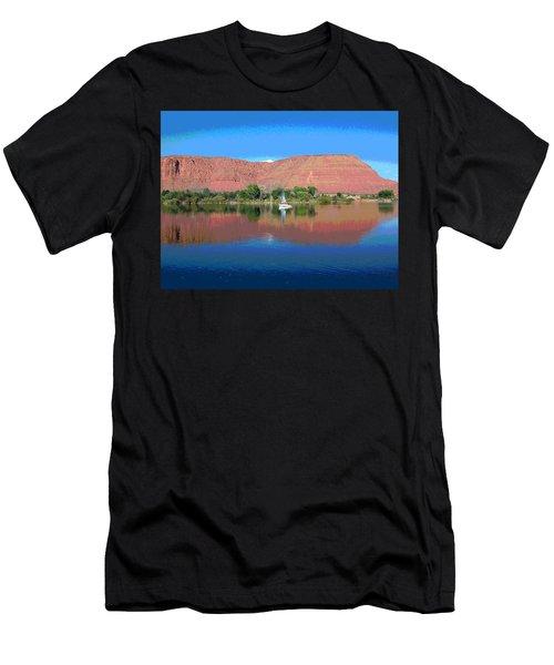 Reflections Of Ivins, Ut Men's T-Shirt (Athletic Fit)