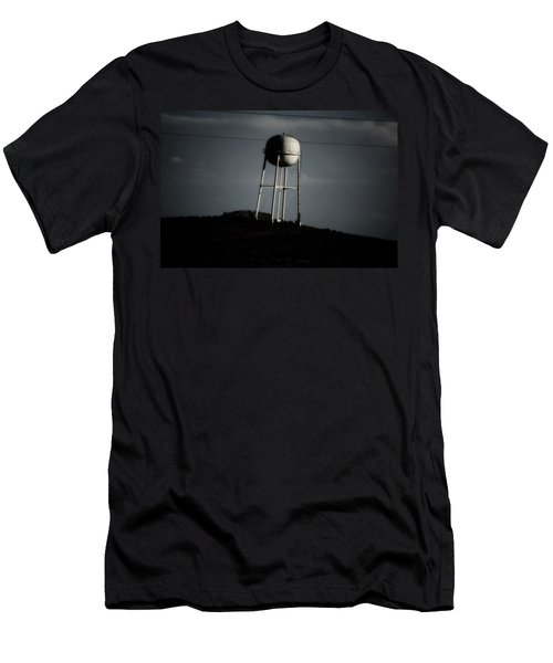 Men's T-Shirt (Slim Fit) featuring the photograph Lopsided Tower by Jessica Shelton