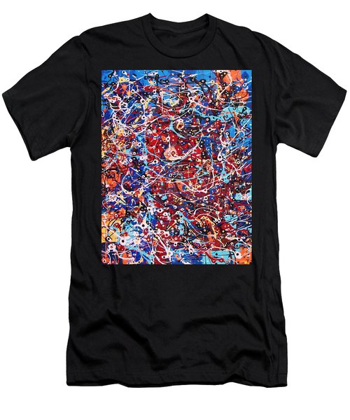 Lost In A Crowd Men's T-Shirt (Slim Fit)