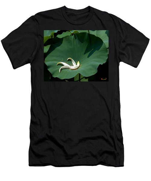 Lotus Leaf--castoff IIi Dl060 Men's T-Shirt (Athletic Fit)