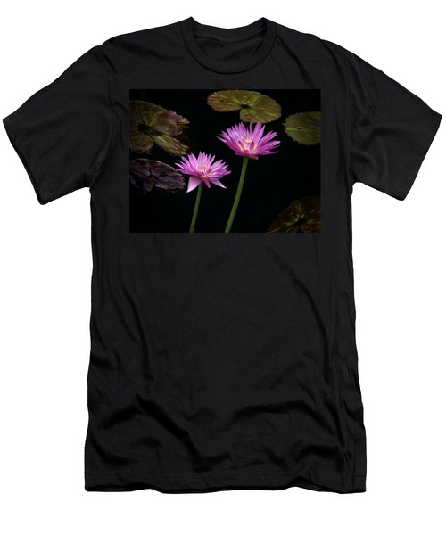 Lotus Water Lilies Men's T-Shirt (Athletic Fit)