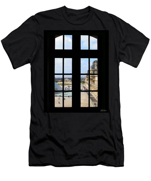 Louvre Window Men's T-Shirt (Athletic Fit)