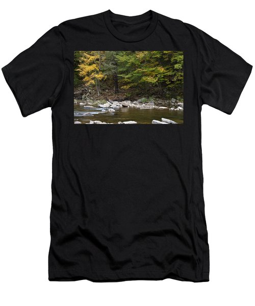 Loyalsock Creek Flowing Gently Men's T-Shirt (Athletic Fit)