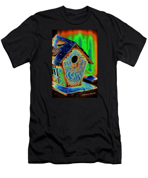 Luminescent Birdhouse Men's T-Shirt (Athletic Fit)