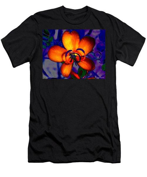 Madarin Petals Men's T-Shirt (Athletic Fit)