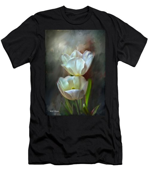 Majestic Tulips Men's T-Shirt (Athletic Fit)