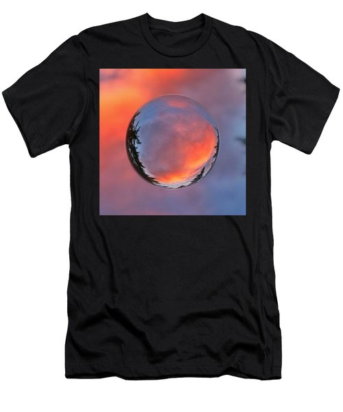 Sunset In A Marble Men's T-Shirt (Athletic Fit)