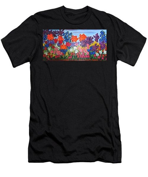 Maya's Garden Men's T-Shirt (Athletic Fit)