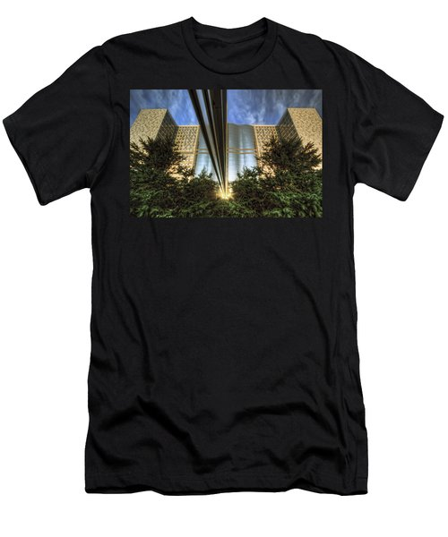 Men's T-Shirt (Slim Fit) featuring the photograph Mayo Squared by Tom Gort