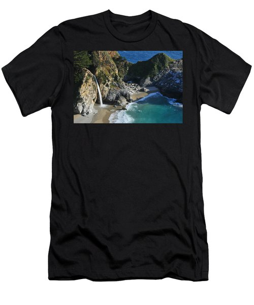 Mcway Falls Men's T-Shirt (Slim Fit) by Lynn Bauer