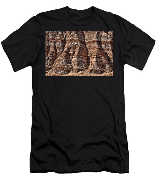 Melting Mountain Men's T-Shirt (Athletic Fit)