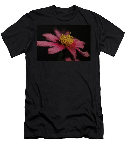 Midnight Bloom Men's T-Shirt (Slim Fit) by Lauren Radke