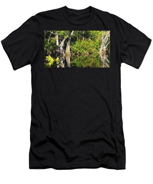 Mirror Pond Men's T-Shirt (Slim Fit) by Anne Mott