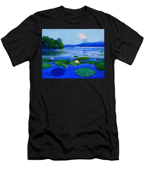 Modern Mississippi Landscape Men's T-Shirt (Athletic Fit)