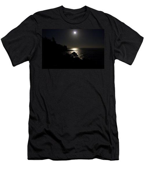 Moon Over Dor Men's T-Shirt (Athletic Fit)