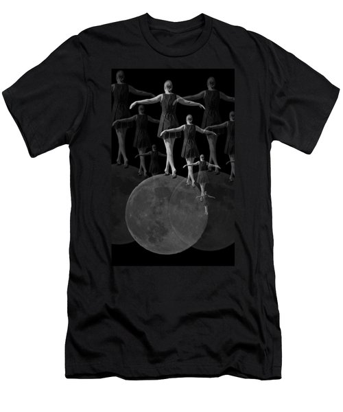 Moon Walking Men's T-Shirt (Athletic Fit)