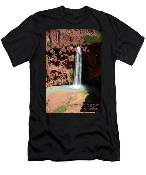 Mooney Falls Men's T-Shirt (Athletic Fit)