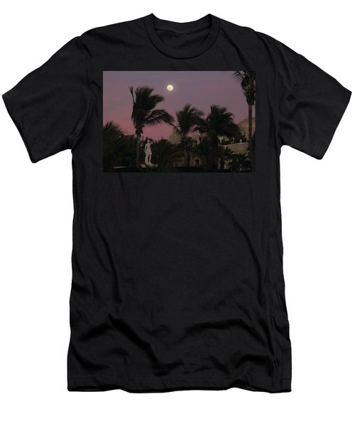 Moonlit Resort Men's T-Shirt (Athletic Fit)