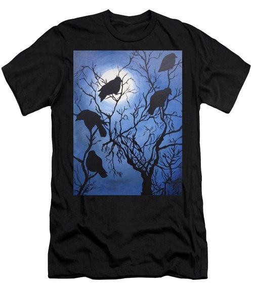 Moonlit Roost Men's T-Shirt (Athletic Fit)