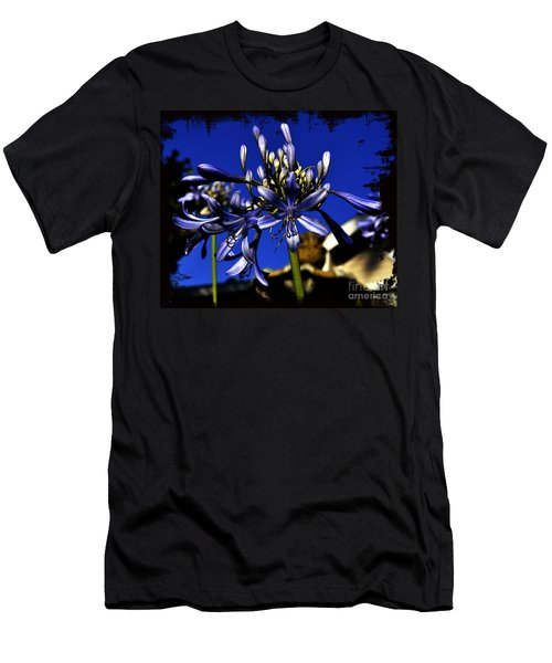Men's T-Shirt (Slim Fit) featuring the photograph Morning Blooms by Clayton Bruster