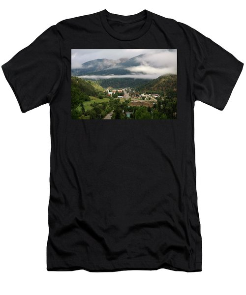 Morning Clouds Over Red River Men's T-Shirt (Athletic Fit)