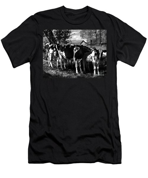 Morning Sun Cascading Intricate Shadows Men's T-Shirt (Athletic Fit)