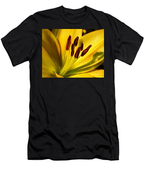 Morning Yellow Men's T-Shirt (Athletic Fit)