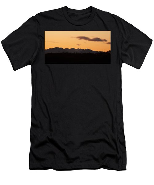 Mountain Sunset Men's T-Shirt (Athletic Fit)