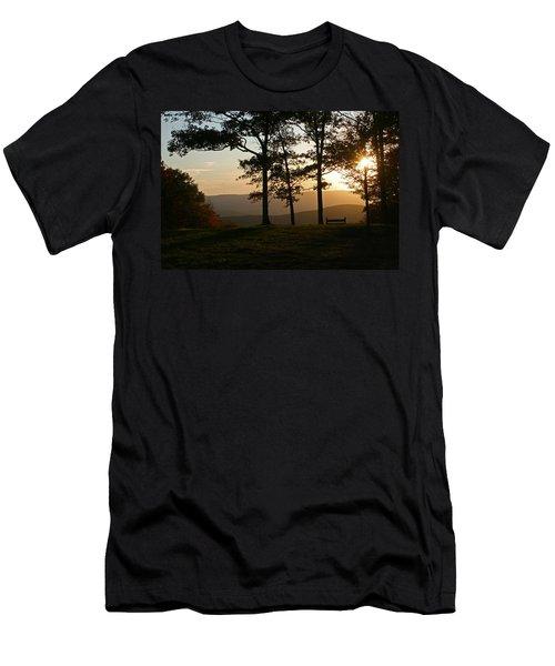 Mt Pisqah Sunset 2 Men's T-Shirt (Athletic Fit)