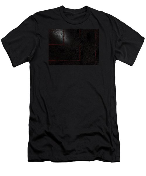Men's T-Shirt (Slim Fit) featuring the digital art Muddy by Jeff Iverson