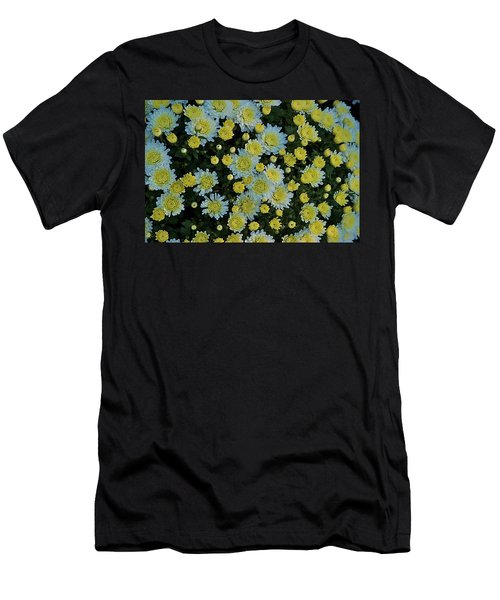 Men's T-Shirt (Slim Fit) featuring the photograph Mums by Joseph Yarbrough