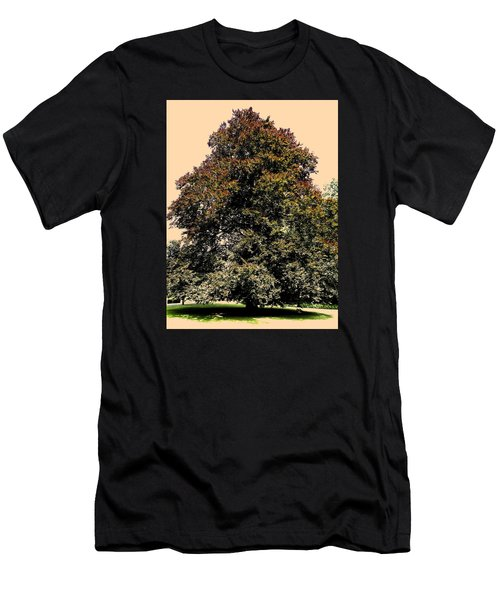Men's T-Shirt (Slim Fit) featuring the photograph My Friend The Tree by Juergen Weiss