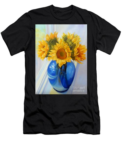 My Sunflowers Men's T-Shirt (Athletic Fit)