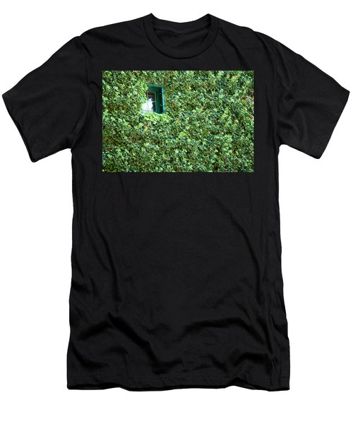 Napa Wine Cellar Window Men's T-Shirt (Athletic Fit)