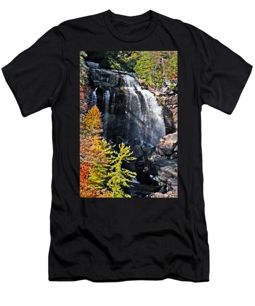 Nc Waterfalls Men's T-Shirt (Athletic Fit)