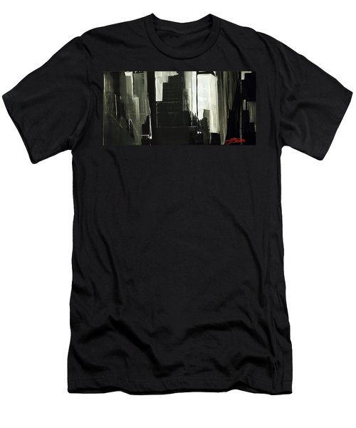 New York City Reflection Men's T-Shirt (Athletic Fit)