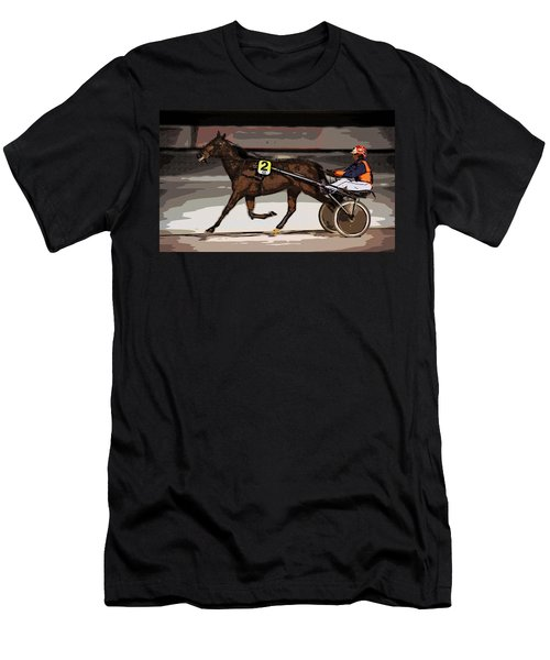 Night Trotter Men's T-Shirt (Athletic Fit)